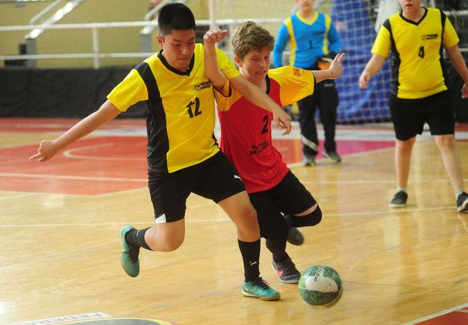 Futsal domina as disputas da semana