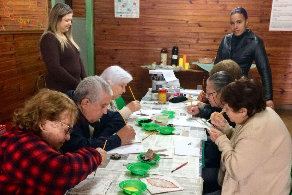 Maiores de 60 têm atividades na Biquinha