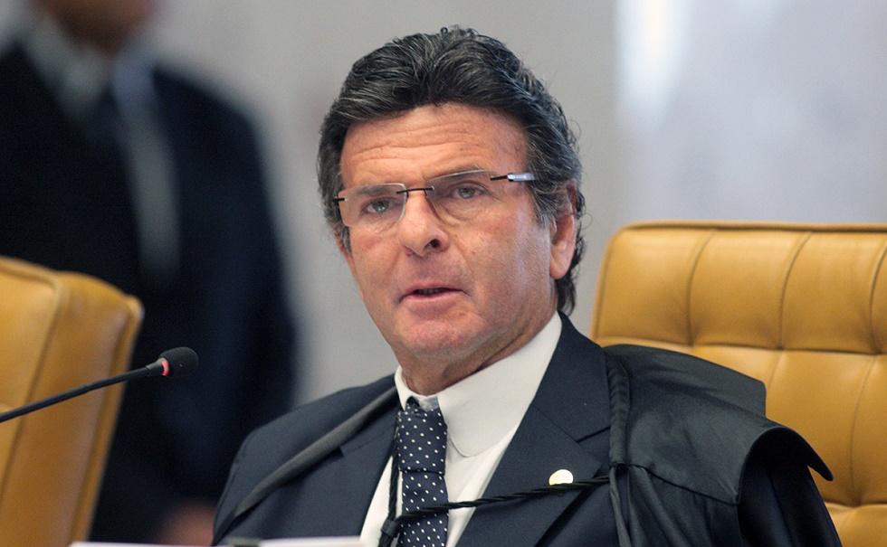 Bolsonaro faz visita oficial a Luiz Fux