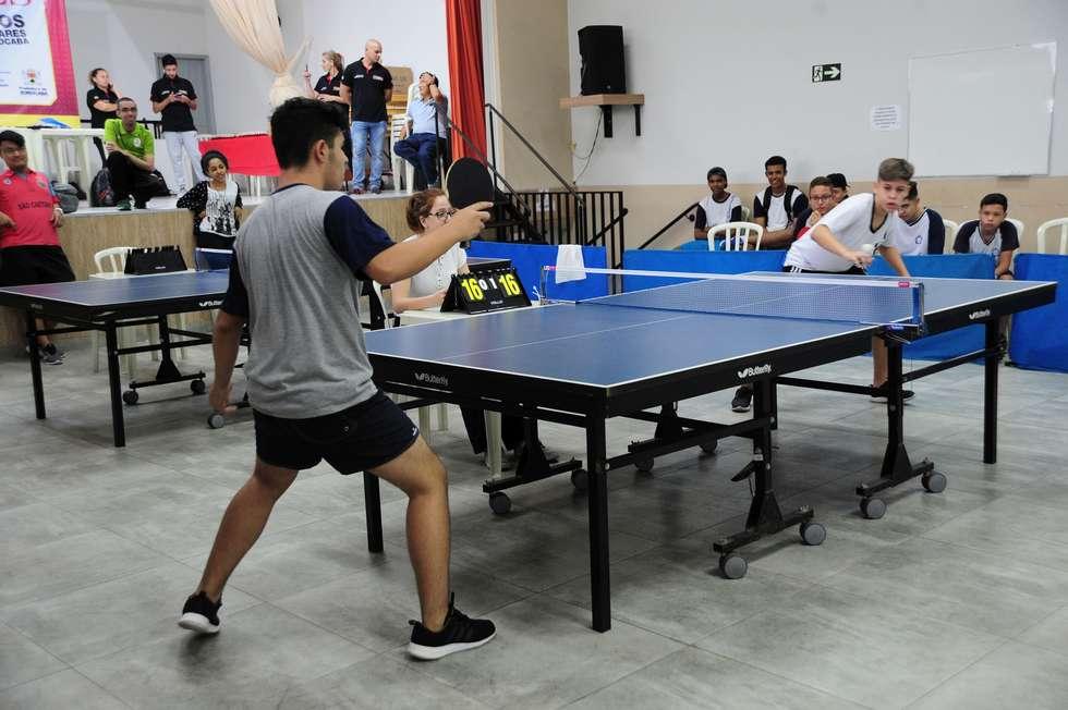 'Bierrenbach' domina no tênis de mesa