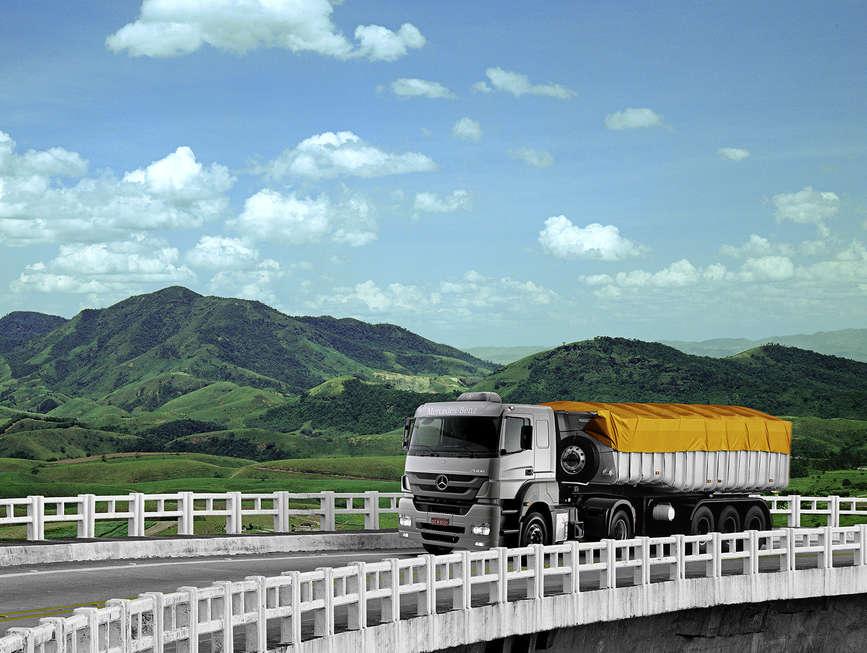 Mercado de caminhões extrapesados cresce no País