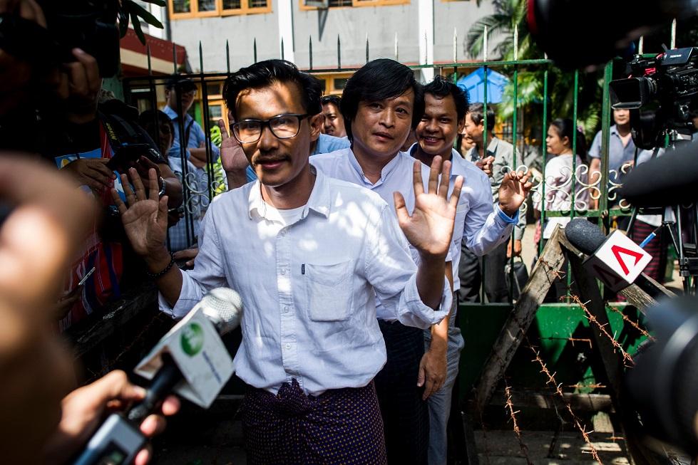 Jornalistas Mianmar