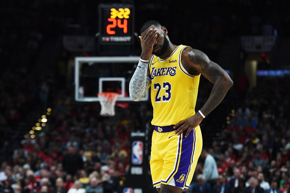 Estreia LeBron James no Los Angeles Lakers