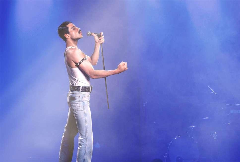 Freddie Mercury nos cinemas encanta as novas gerações
