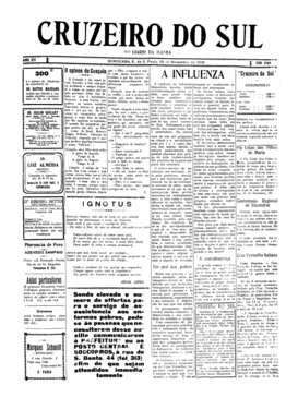 Há 100 anos, gripe espanhola assolava Sorocaba