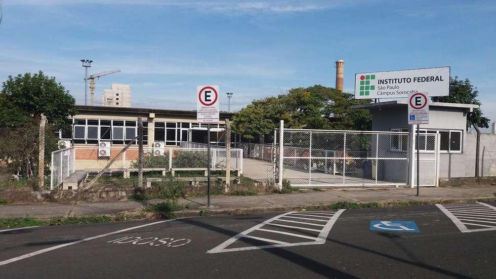 O IFSP Sorocaba funciona num prédio no bairro Santa Rosália, junto ao câmpus da UFScar. Crédito da foto: Divulgação