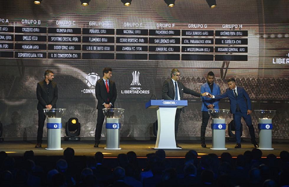 Equipes brasileiras conheceram adversários da Libertadores 2019