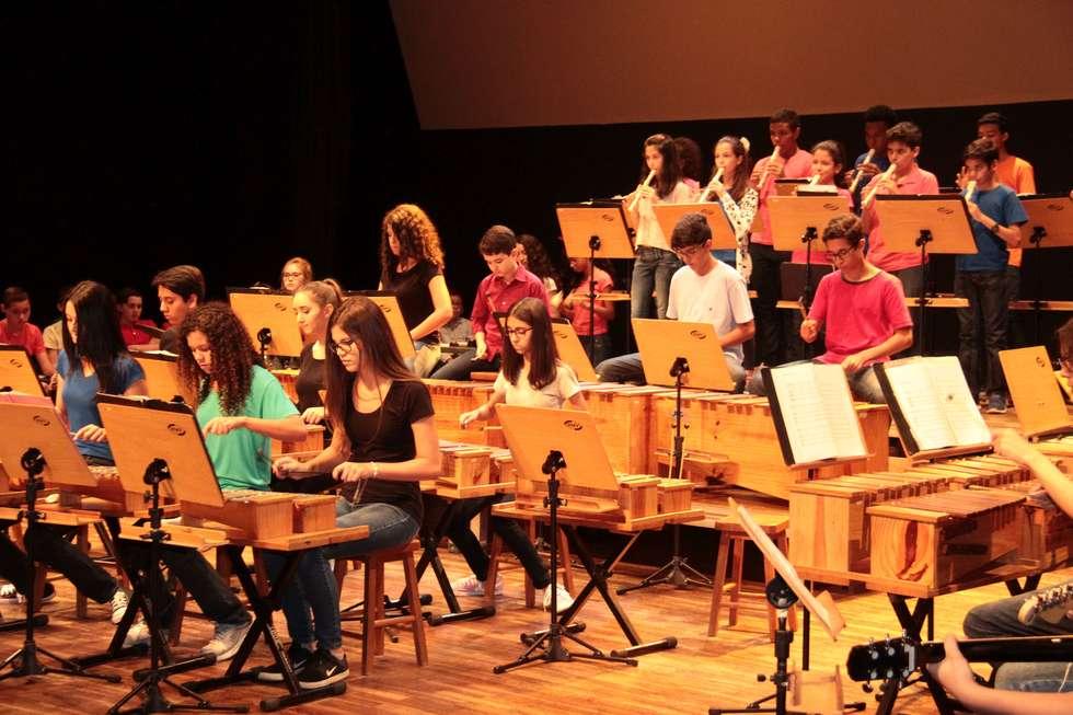 Orquestra Orff toca hoje na Fundec
