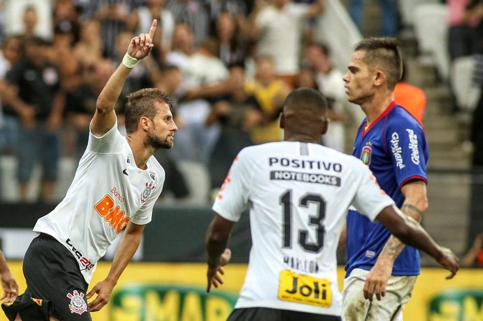 Corinthians 1 x 1 São Caetano. Crédito da Foto: Rodrigo Coca/Divulgação/Corinthians