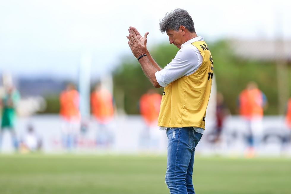 Renato Gaúcho é treinador do Grêmio.