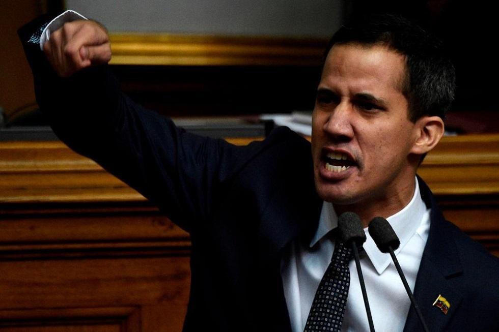 O novo presidente da Assembleia Nacional da Venezuela, Juan Guaidó. Crédito da Foto: Federico Parra /AFP