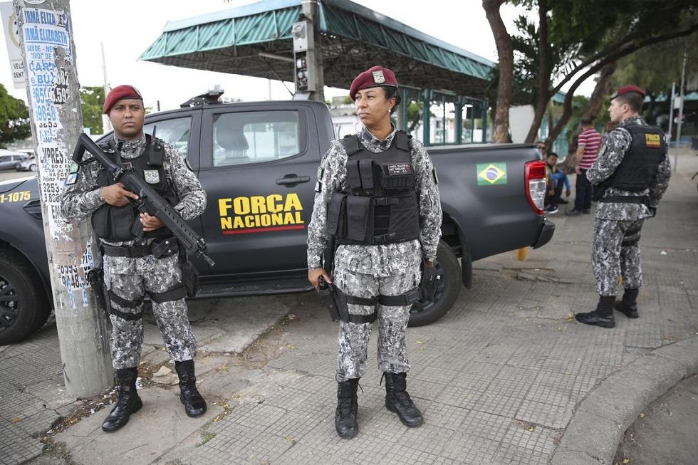 Forças de segurança do Ceará.  Crédito da Foto: José Cruz/Agência Brasil