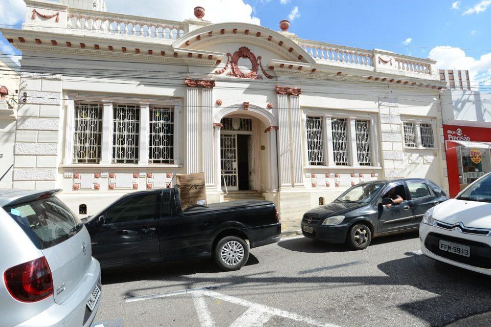Biblioteca Infantil Municipal fica na Rua da Penha. Crédito da Foto: Fábio Rogério (25/1/2016)