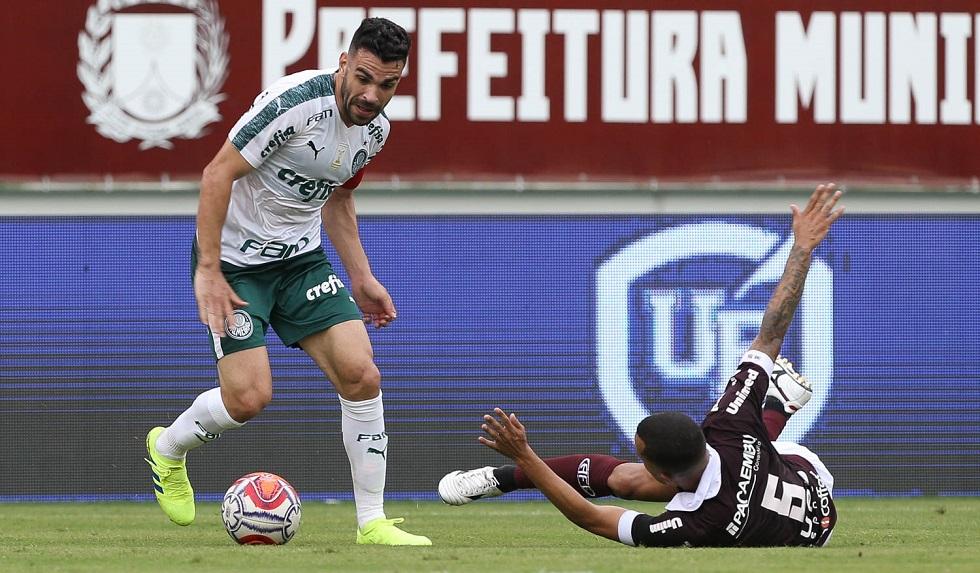Ferroviária e Palmeiras empataram por 0 a 0 na Arena Fonte Luminosa. Crédito da Foto: César Greco/Ag. Palmeiras (17/2/2019)