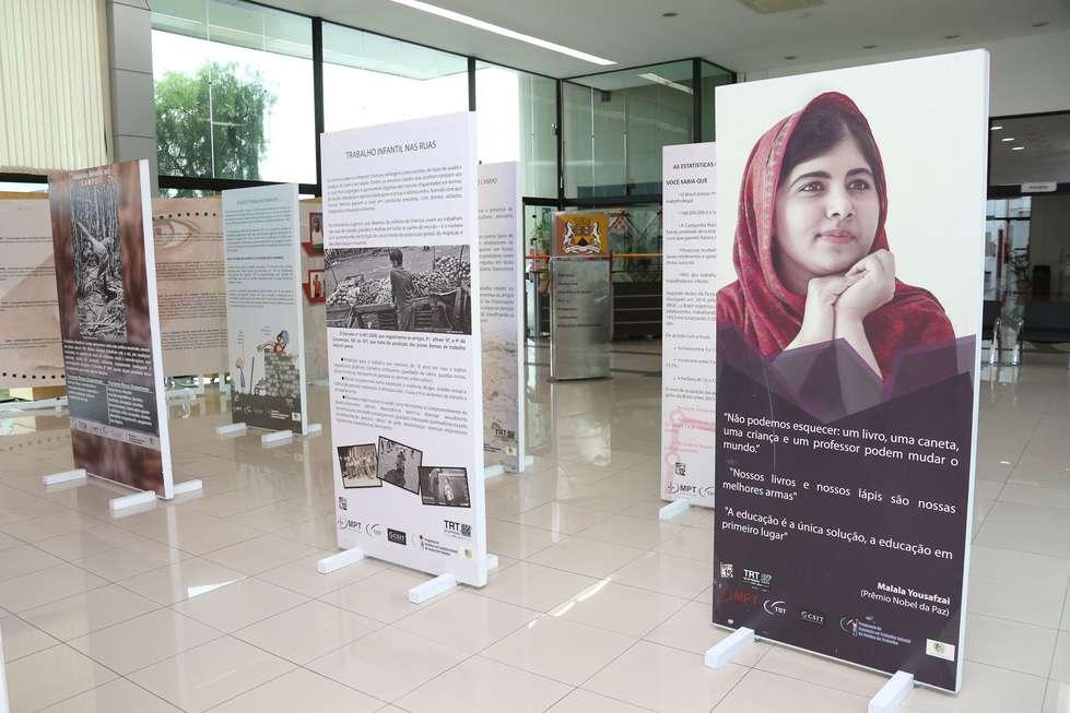 Exposição traz reflexão sobre o trabalho infantil