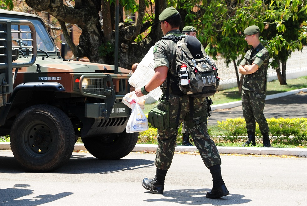 Decreto autoriza militares dos EUA no Brasil para treinamento com o Exército. Crédito da foto: Emídio Marques (09/10/2014)