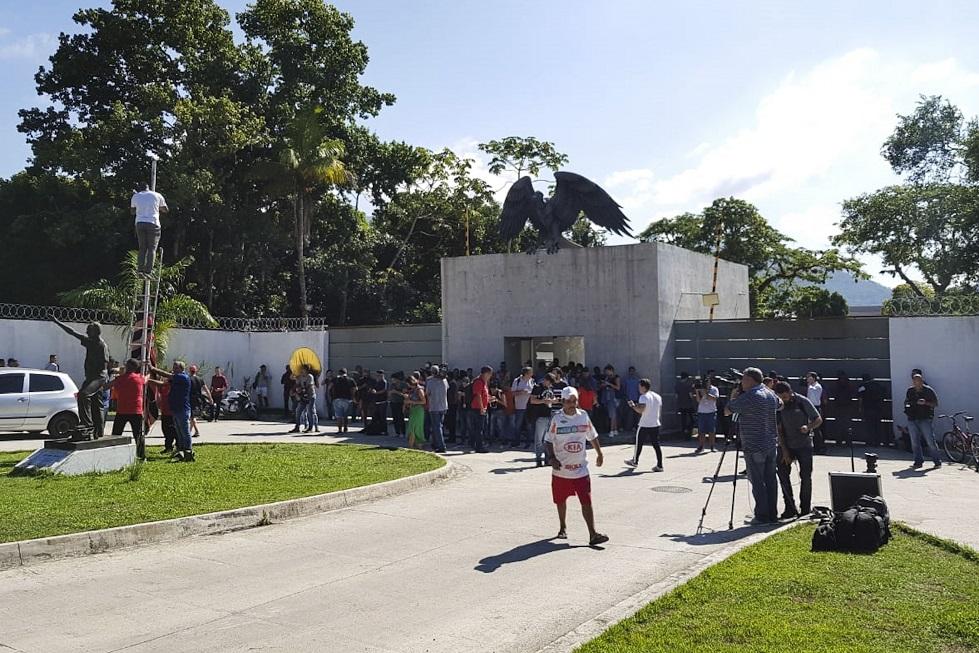 Segundo sobrevivente de incêndio no CT do Flamengo recebe alta
