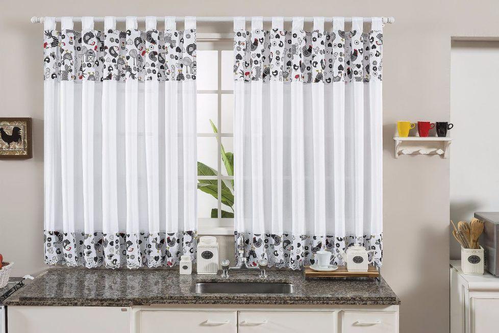 A beleza flutuante das cortinas