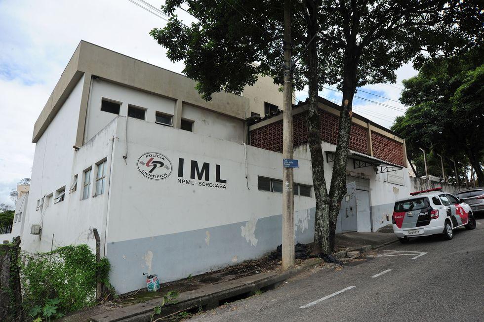 O corpo da vítima foi encaminhado ao IML de Sorocaba. Crédito da foto: Emídio Marques