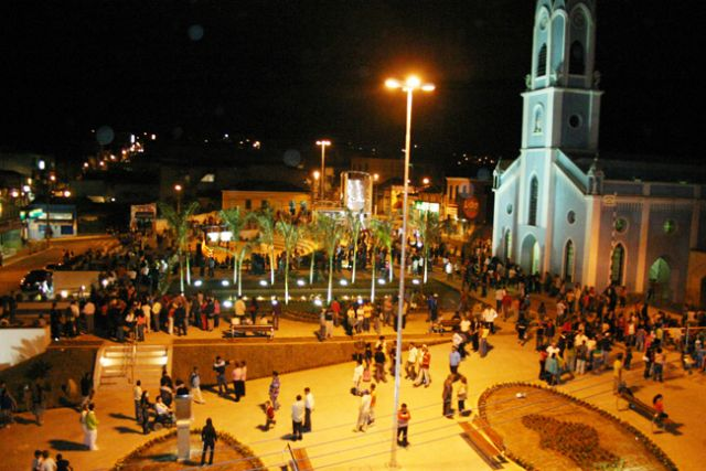 Praça da Matriz de Ibiúna