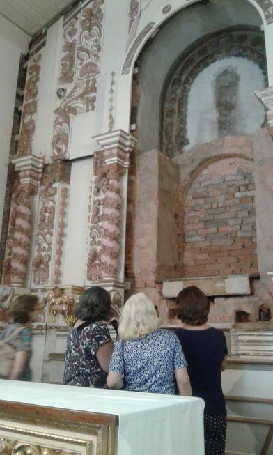 Iniciada a fase de douração no restauro da igreja de Santa'Ana