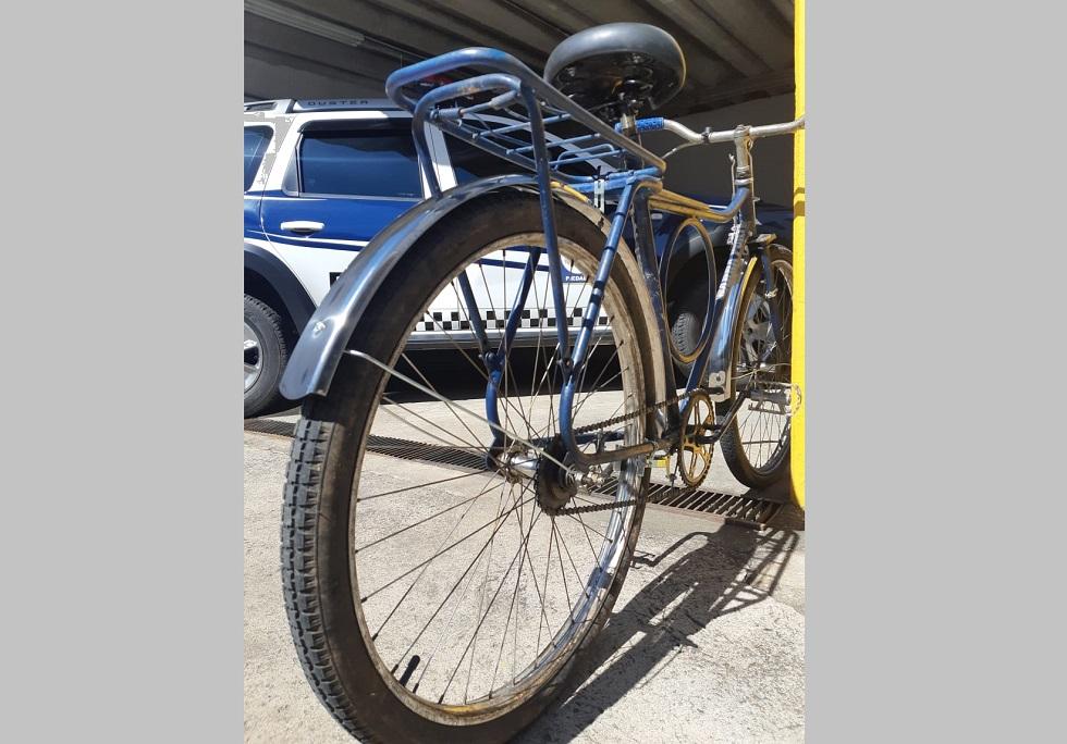 GCMs de Piedade recuperam bicicleta roubada e a reformam