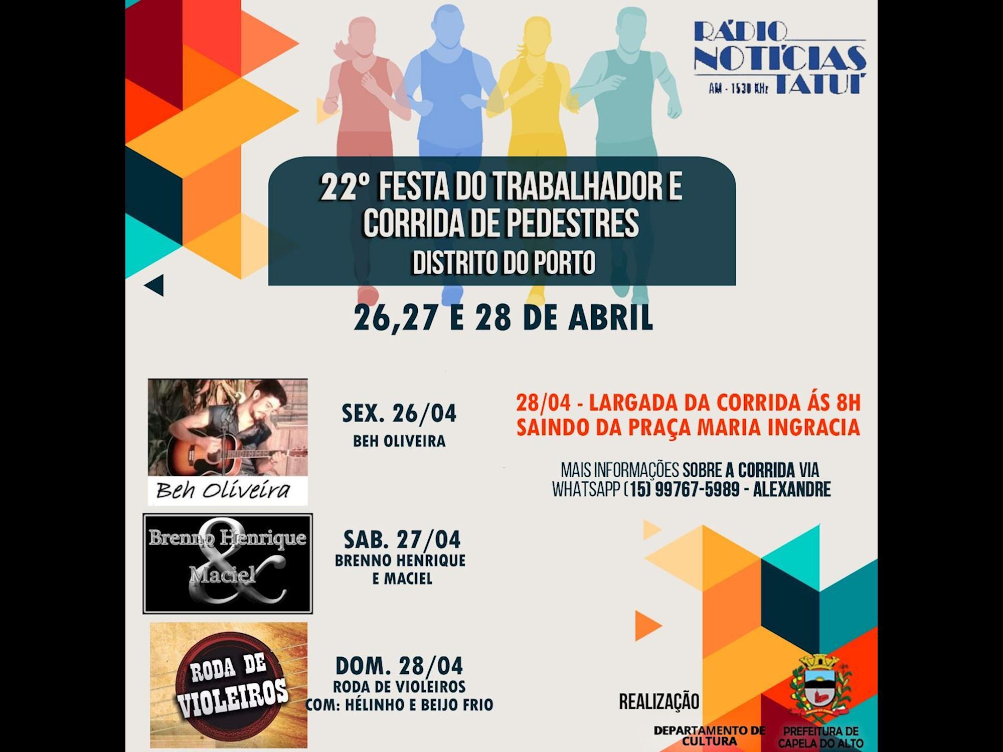 Festa do Trabalhador no Distrito do Porto oferece lazer para toda a família