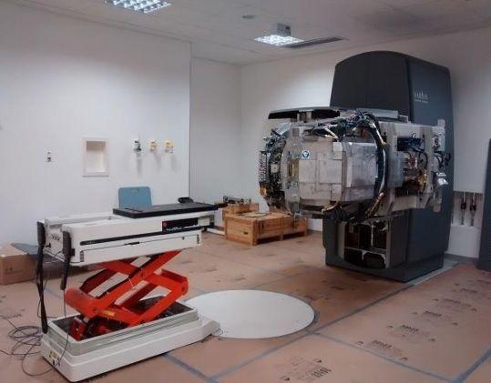 Novo aparelho de radioterapia fica para maio