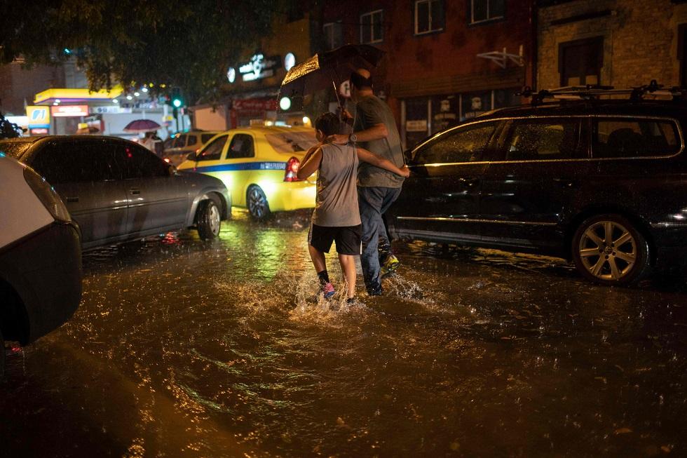 Temporal no Rio deixa ao menos três mortos