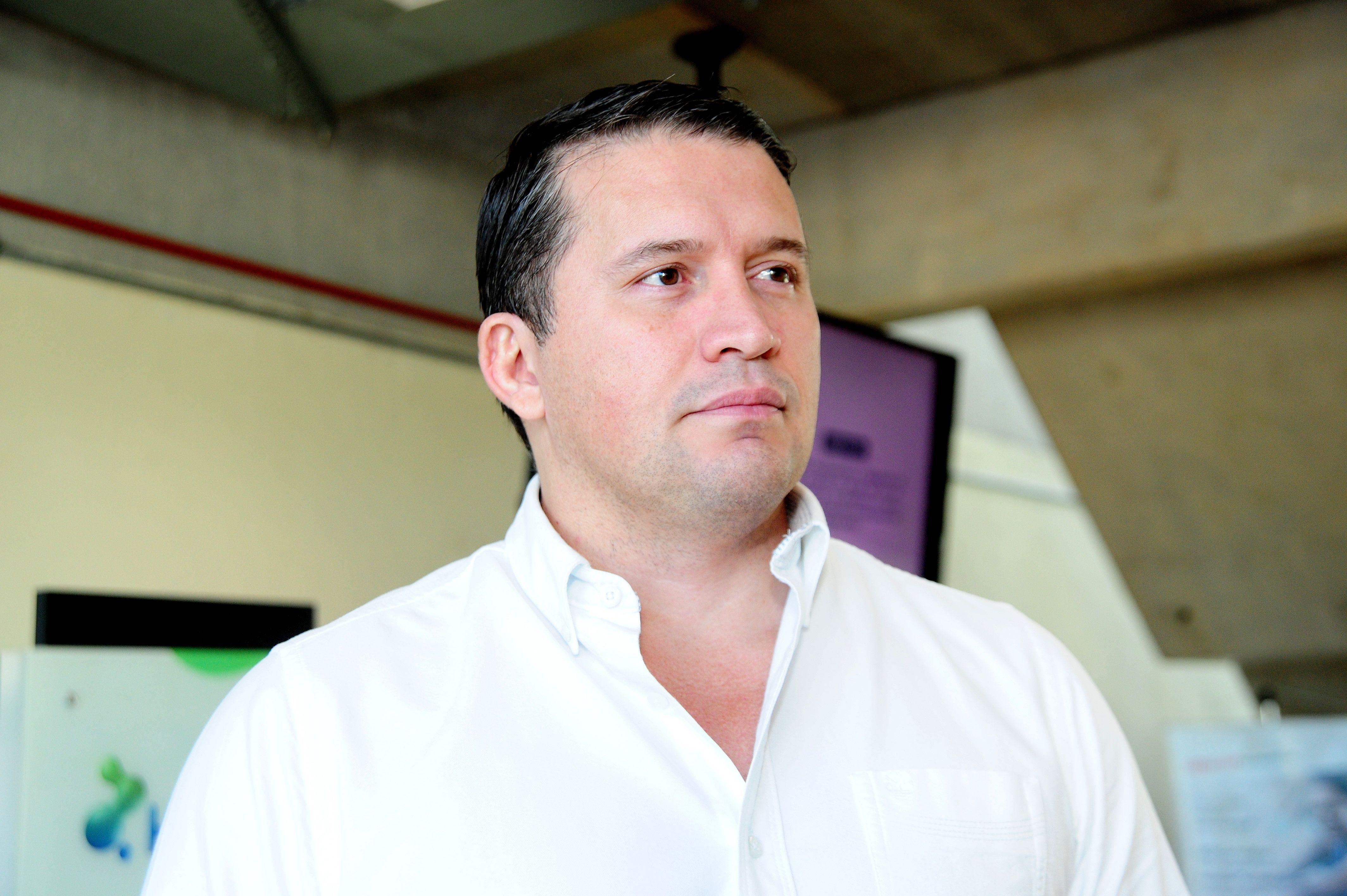 Roberto Freitas, presidente do PTS. Crédito da foto: Emidio Marques