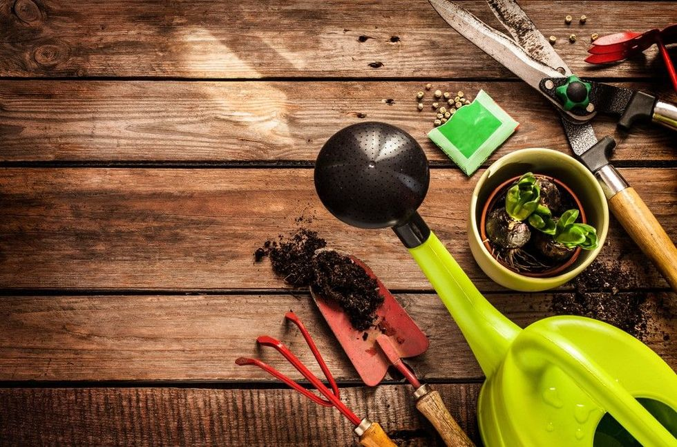 Monte seu kit de ferramentas para jardim