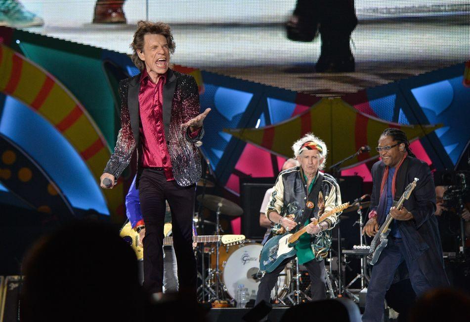 Rolling Stones retomam turnê após recuperação de Mick Jagger