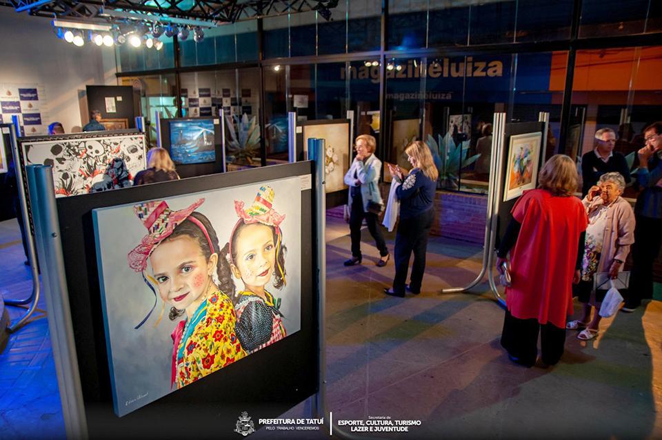 3ª Exposição Coletiva de Artes Plásticas reúne obras de 14 artistas plásticos de Tatuí