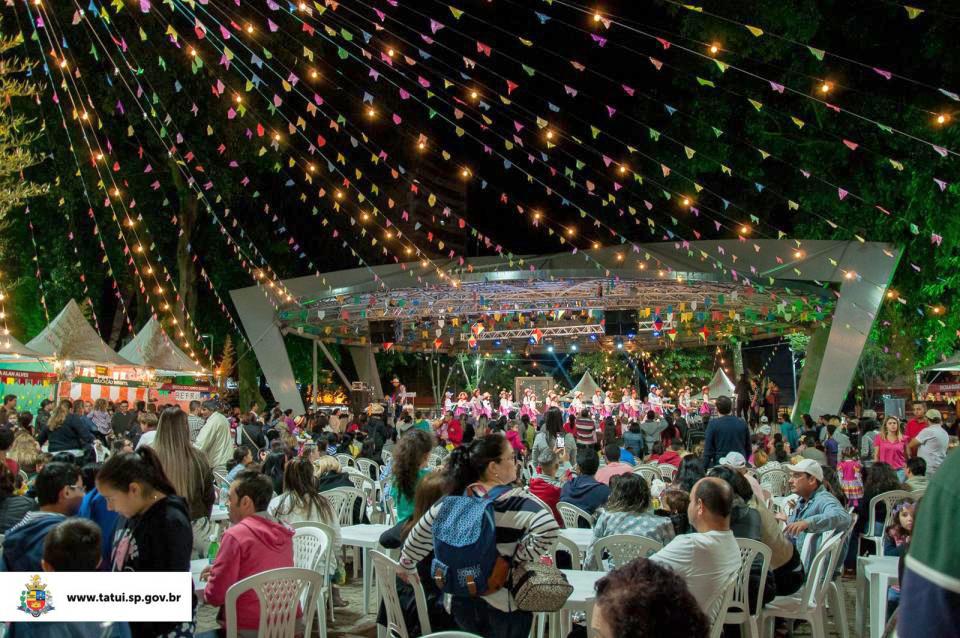 Festa Junina de São João do Bemfica, que acontece de sexta-feira a domingo (de 7 a 9), na Praça da Matriz
