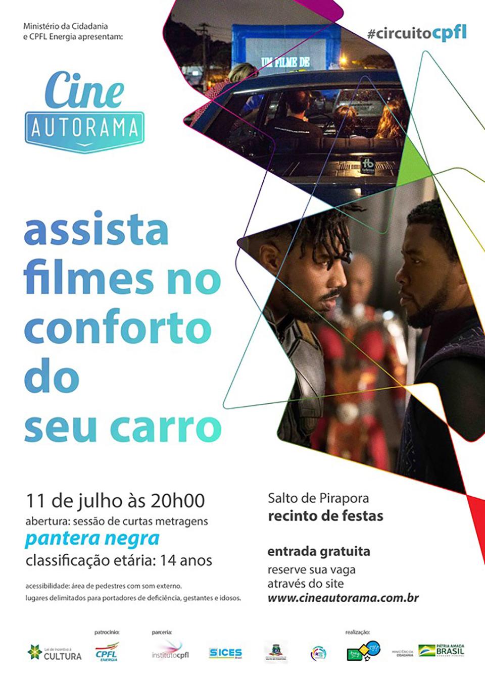 Entrada é gratuita mas ingressos precisam ser reservados no site do Cine Autorama