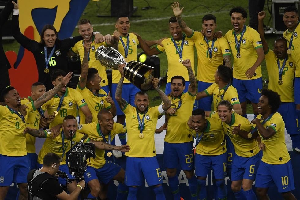 O Brasil é o atual campeão da Copa América.