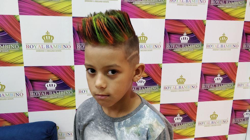 Crianças também adoram estar na moda
