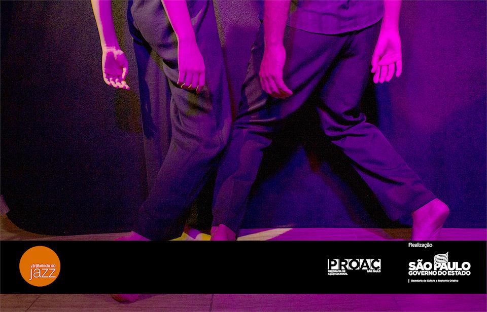 Na quinta-feira (9), o Núcleo Rebote apresenta o espetáculo de dança (In)Fluência do Jazz, com entrada é gratuita