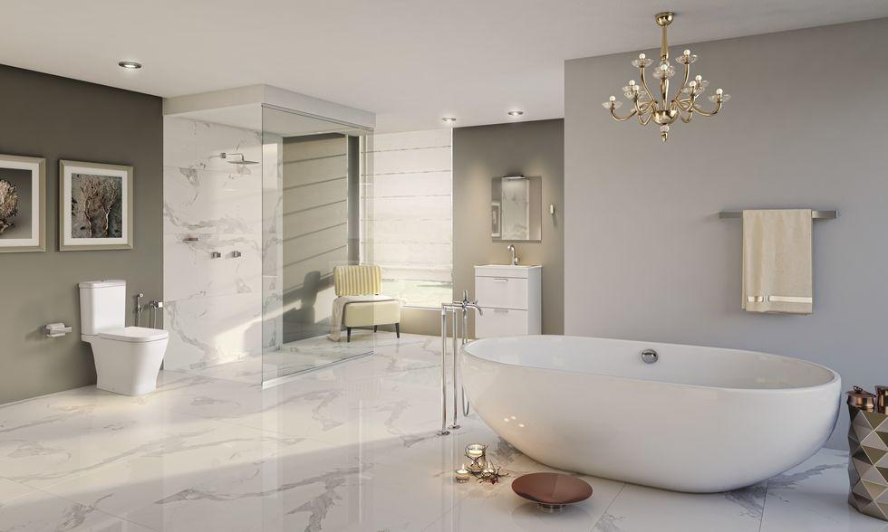 O prazer de um bom banho de banheira