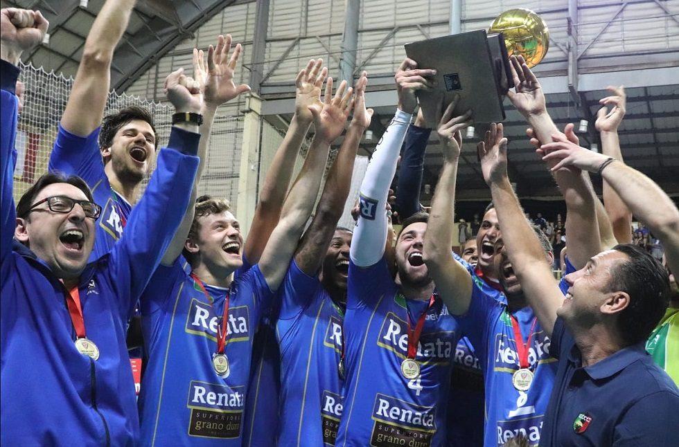 A Copa São Paulo de Vôlei 2019 foi disputada no Ginásio Municipal de Esportes Dr. Gualberto Moreira