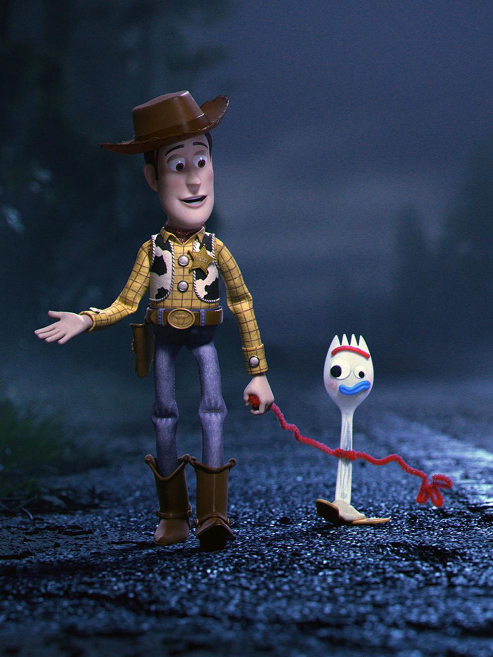 A missão de Woody é provar a importância do garfinho na vida de Bonnie