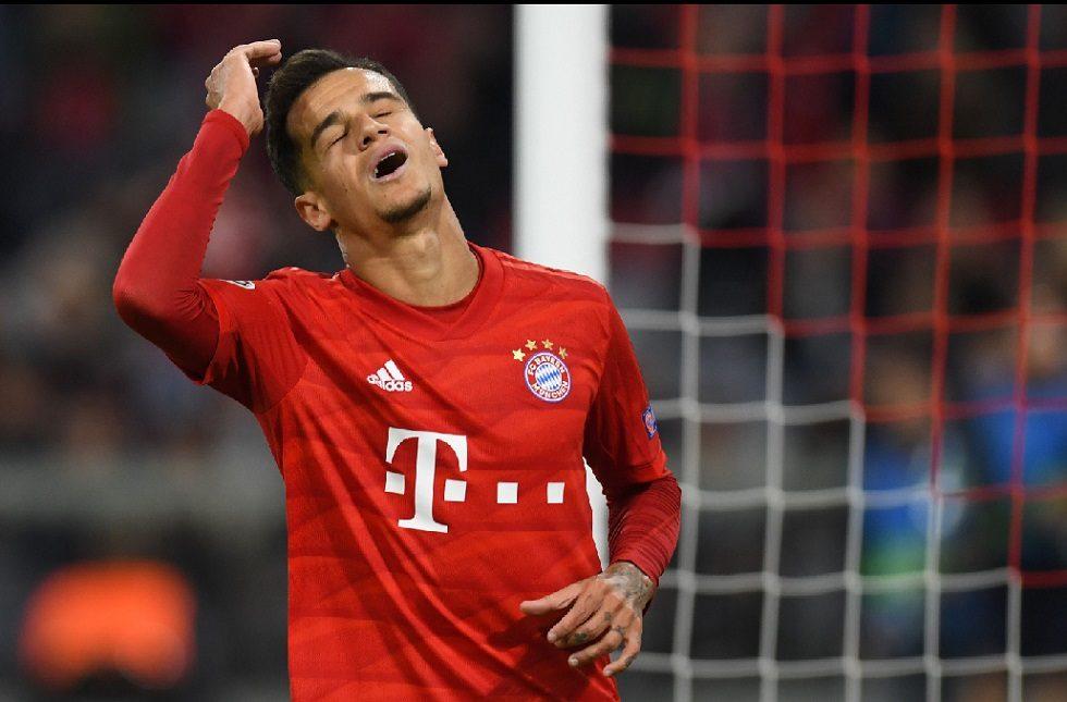 Coutinho joga bem e Bayern de Munique aplica 3 a 0 no Estrela Vermelha