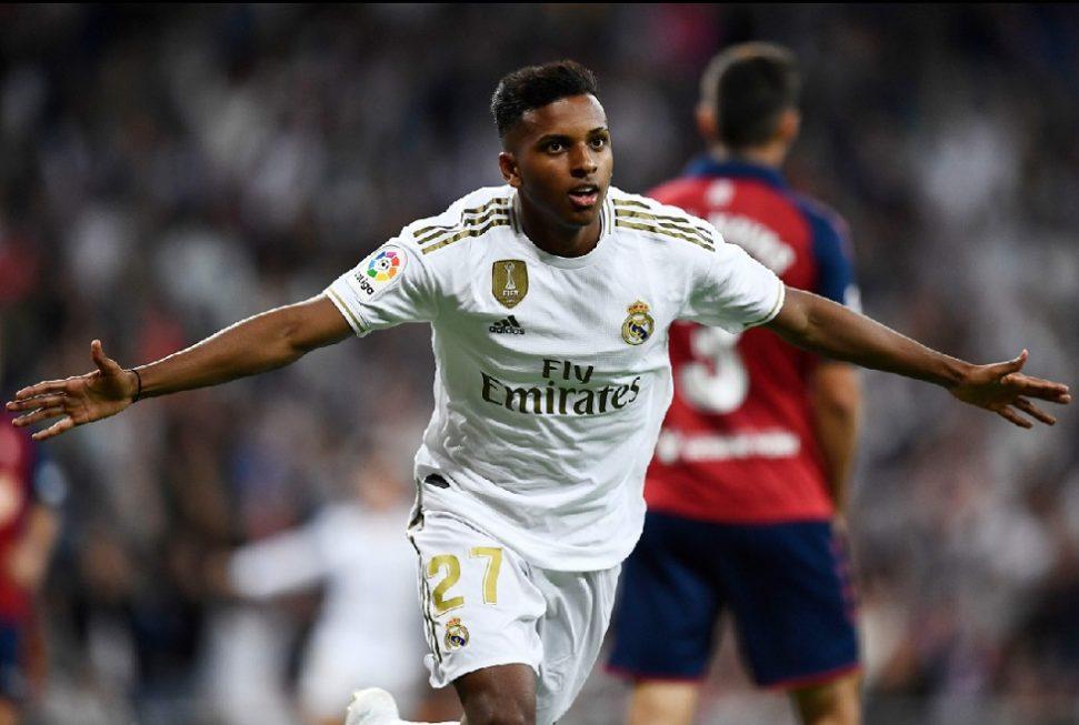 Vinicius Jr e Rodrygo marcam e Real Madrid assume ponta do Espanhol