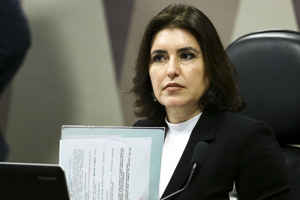 Senadora Simone Tebet (MDB-MS).