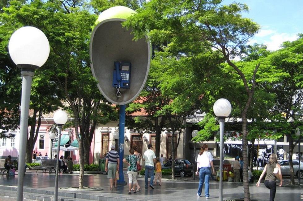 Itu é o cenário escolhido para discussão do turismo brasileiro, nesta sexta-feira (1º)