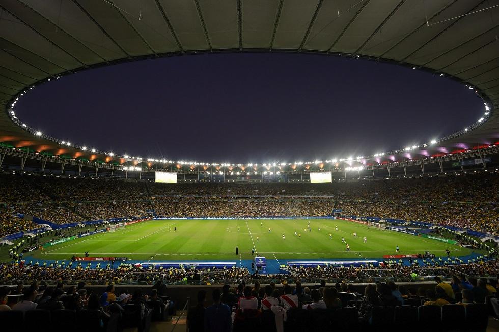 Estádio do Maracanã, no Rio de Janeiro.