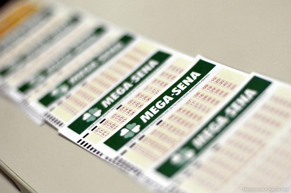 A Mega-Sena é uma loteria promovida pela Caixa Econômica Federal. Crédito da foto: Marcello casal Jr / Agência Brasil