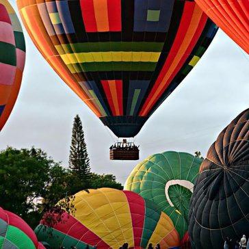 Competição, de 29 de novembro a 1º de dezembro, reúne os ases do balonismo