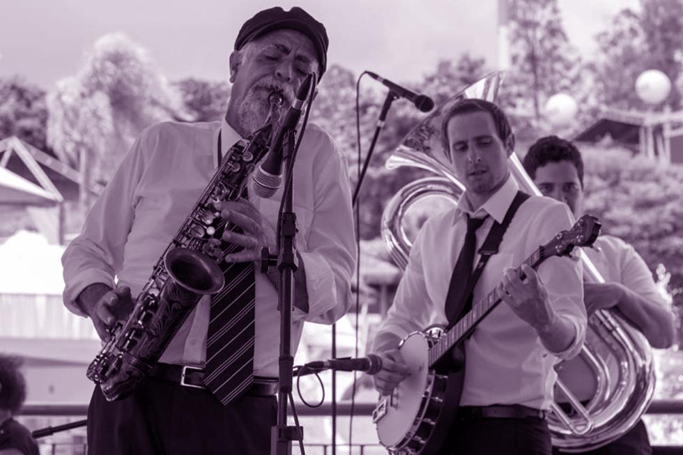 Dixie Jazz Band abre a programação às 13h30, na Praça da Matriz
