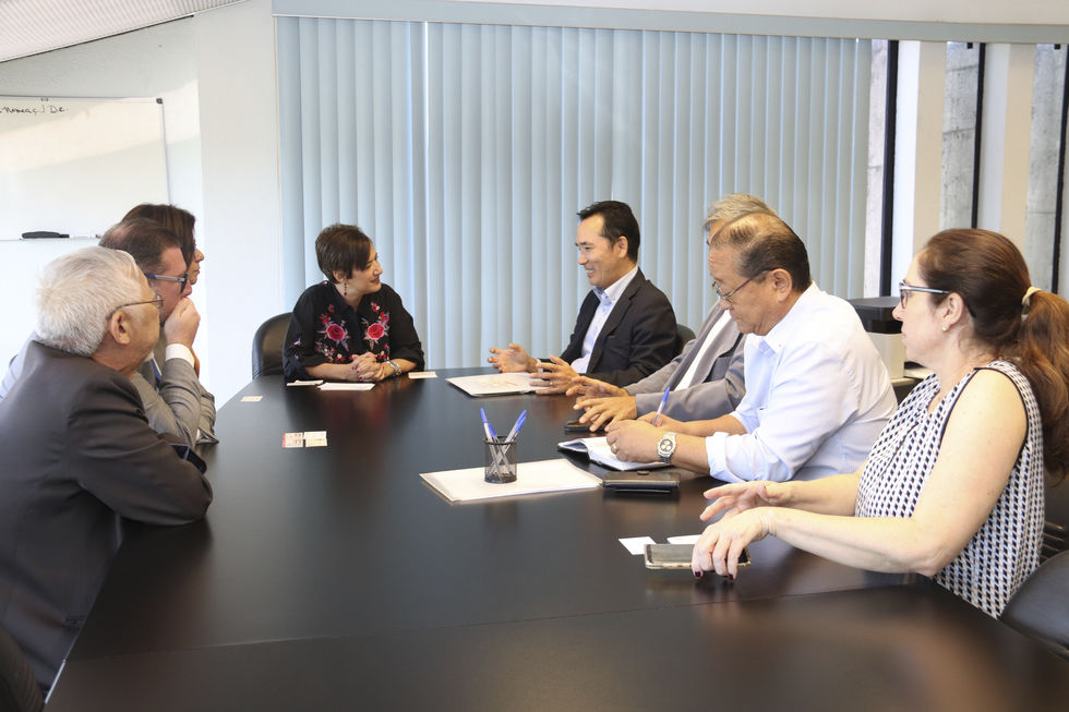 Prefeita recebe o cônsul-geral-adjunto do Japão